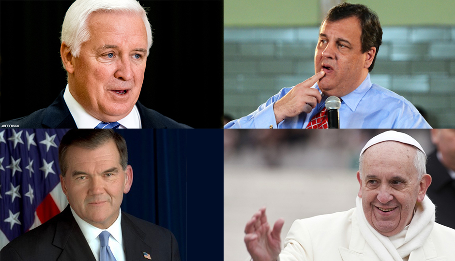 News Quiz: Corbett, Christie, Ridge, Pope Francis
