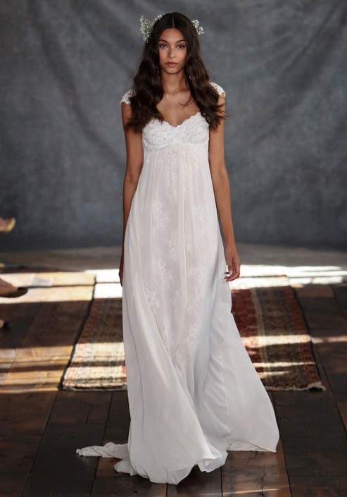Photos claire pettibone just debuted a brand new line of for Cheap wedding dresses in philadelphia
