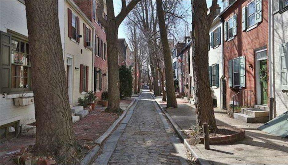 Historic Home On Tiny Quince Street Philadelphia Magazine