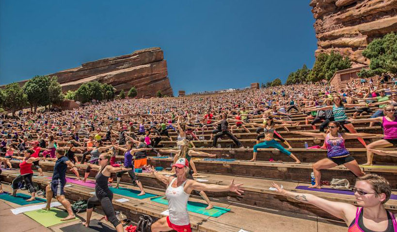 Soulshine at Red Rocks Park and Amphitheatre in Colorado | Photo by Jay Blakesberg