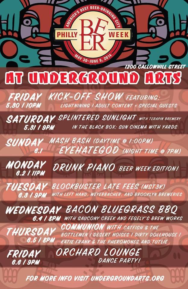 underground-arts-beer-week