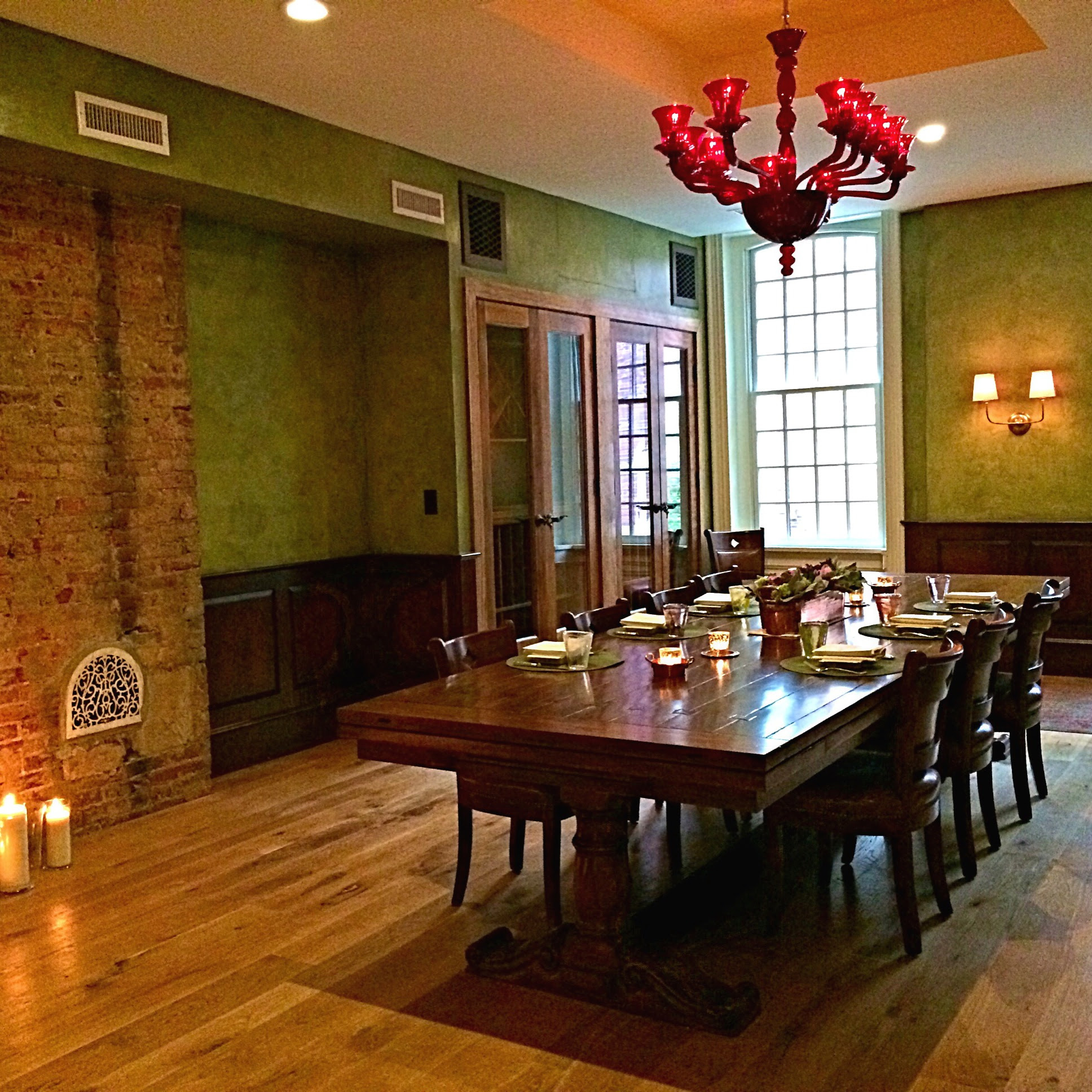 New upstairs dining room at Vetri.