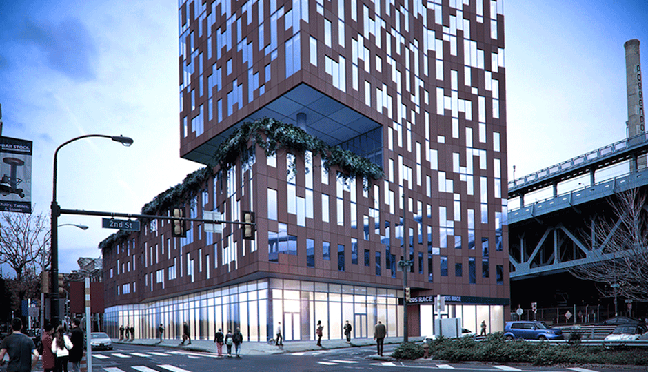 Rendering of 205 Race Street Photo credit: 205Race.com