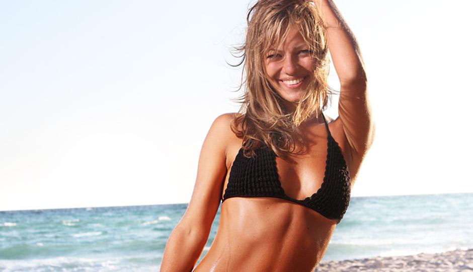Girl-on-beach