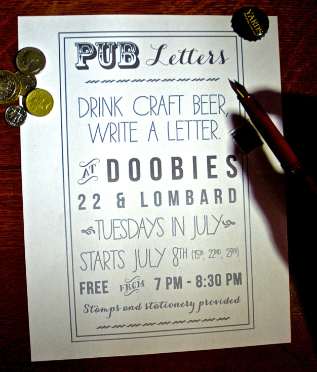 Pub Letters: The Best Way To Spend A Tuesday We've Heard