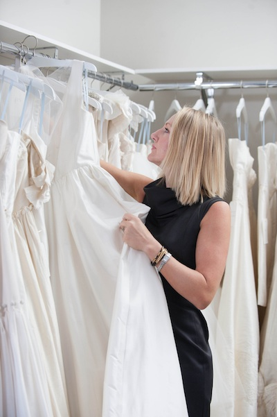 Designer Heidi Elnora is known for her custom wedding gowns.