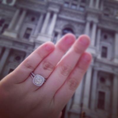 Ann Marie's ring!