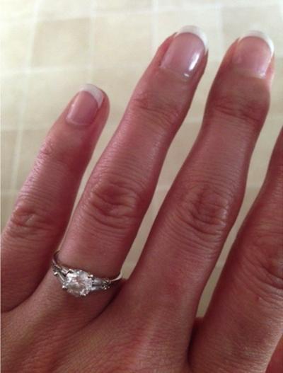 Deirdre's ring!