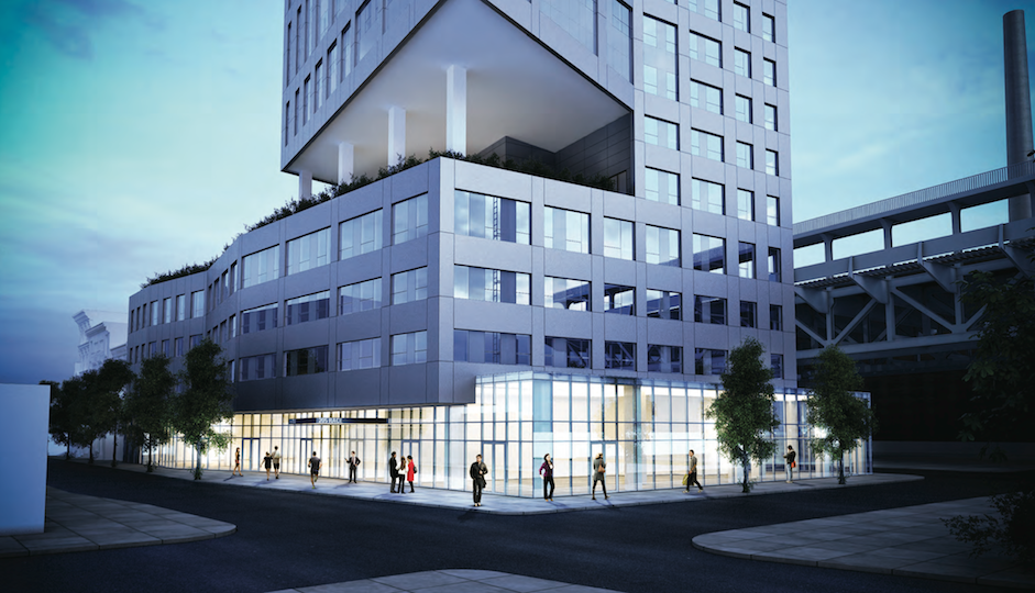 A new rendering of 205 Race Street, courtesy of the developers.
