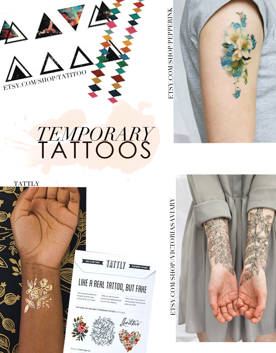 Temporary Tattoos Are Officially the Coolest New Accessories