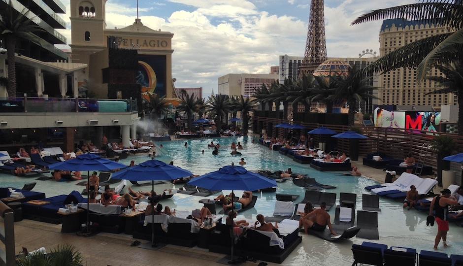 The Boulevard Pool at The Cosmopolitan Las Vegas.