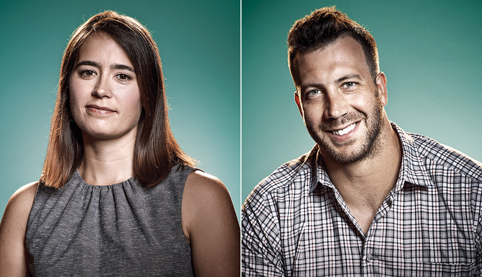 Katherine Gajewski and Connor Barwin. / Photography by Joseph Balestra
