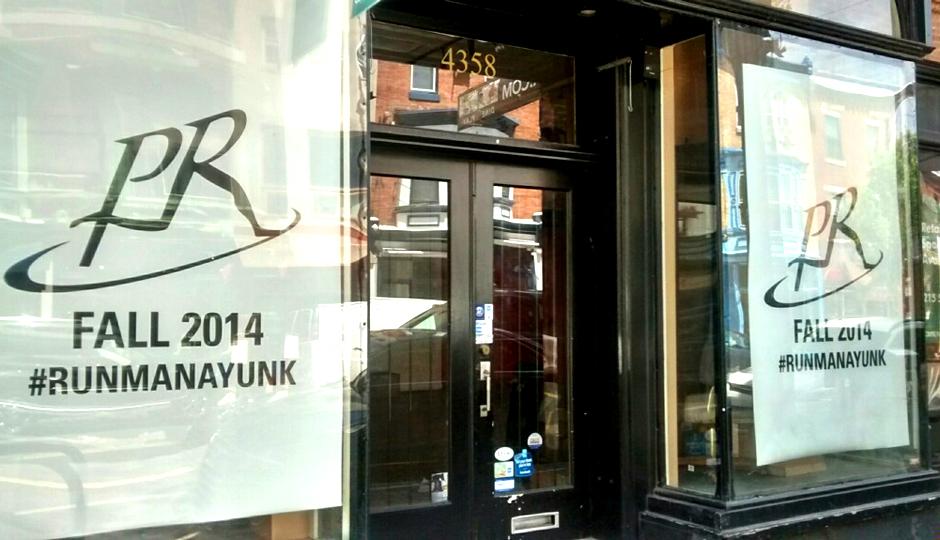 Philadelphia Runner's new Manayunk storefront