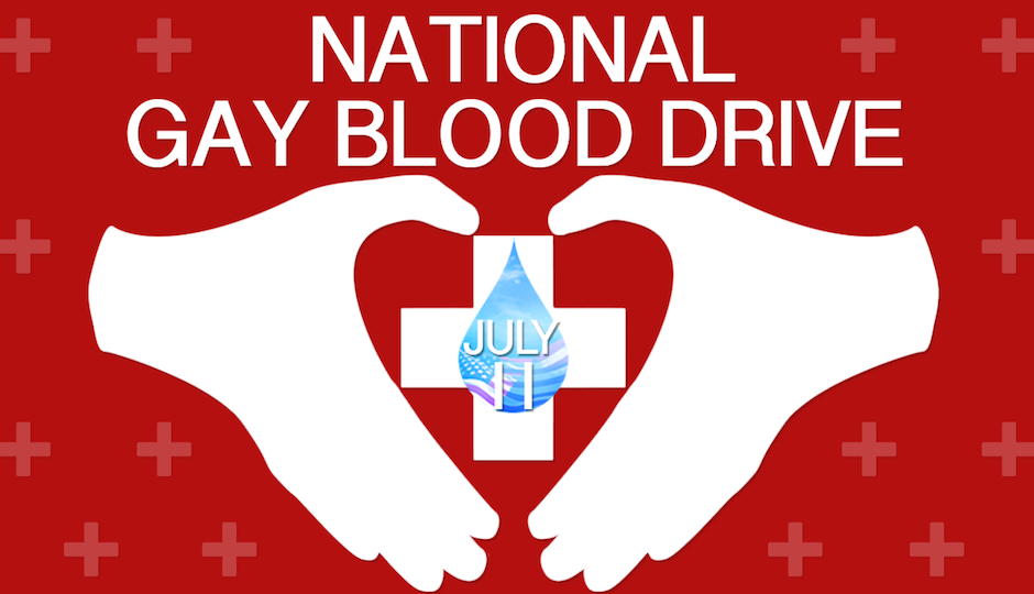 national gay blood drive