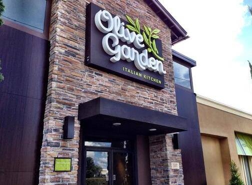 One of the new Olive Gardens, via the chain's Facebook page.