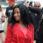 Nicki Minaj outside the Ritz-Carlton. Photo by HughE Dillon