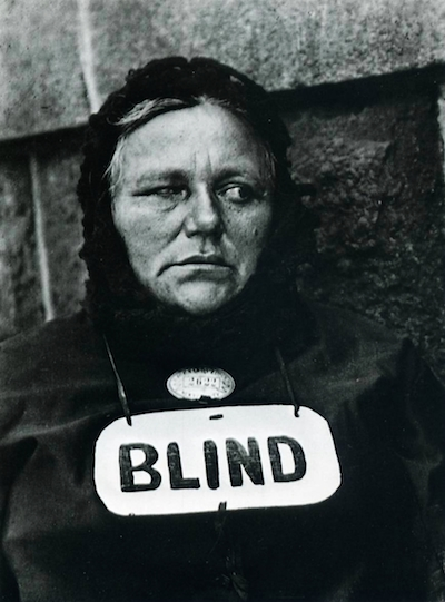 "Paul Strand's ""Blind Woman"" (New York, 1936)"