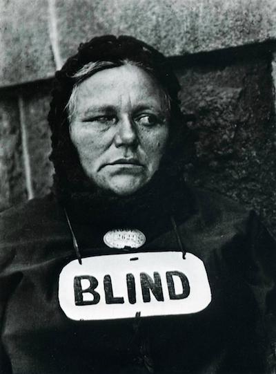 "Paul Strand's ""Blind Woman"" (New York, 1936)"