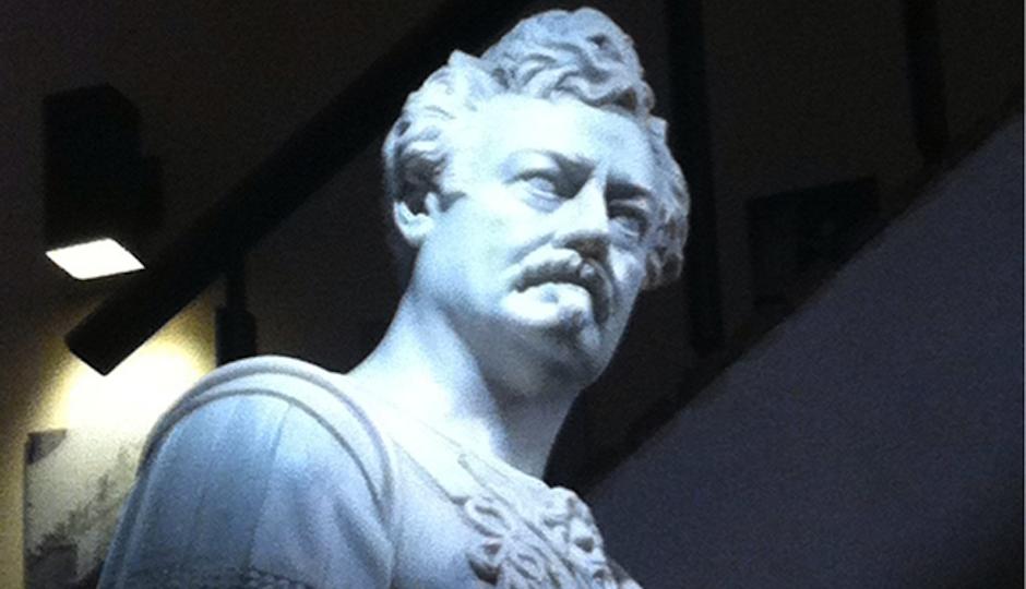 ron swanson statue