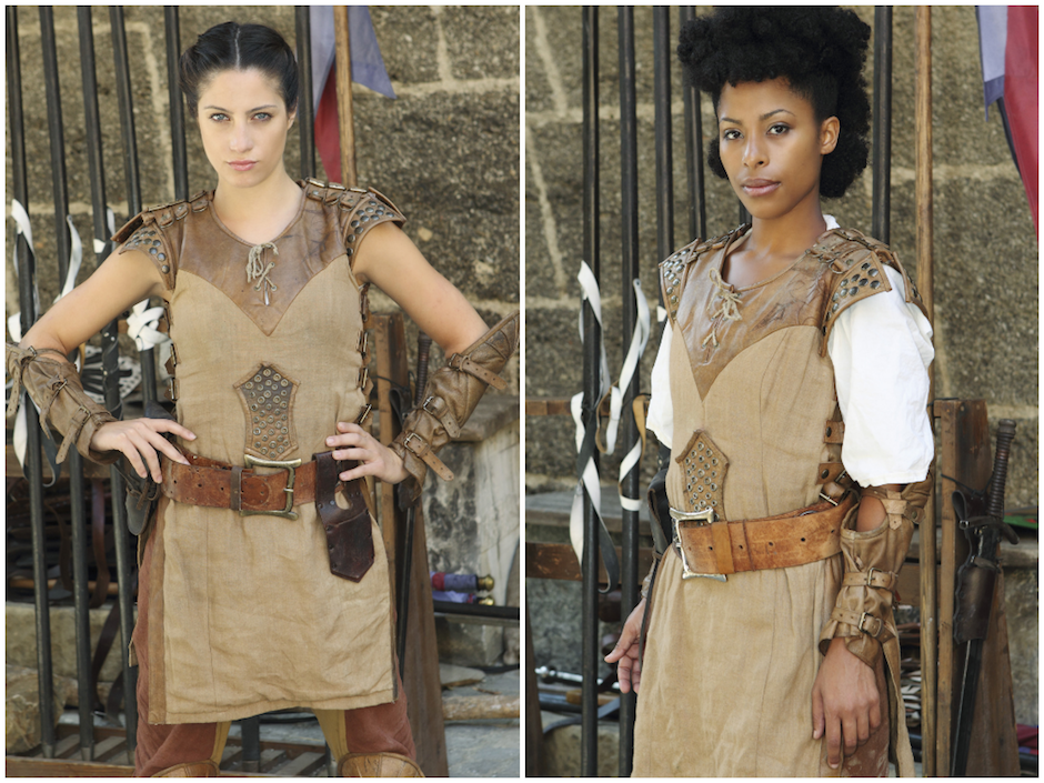 "Lina Carollo and Jasmine Kyle star in new ABC fantasy reality series ""The Quest."""