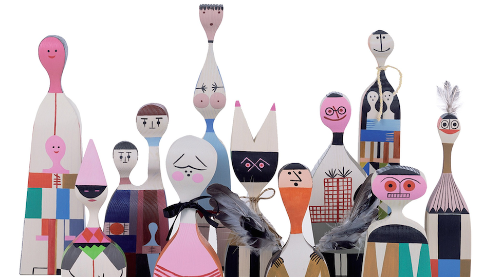 "Alexander Girard's ""Wooden Dolls"" will be on display starting TK in Tk."