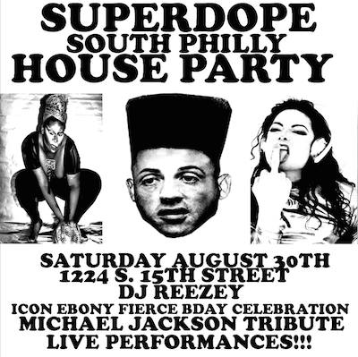 Icon Ebony-Fierce celebrates her 25th birthday at Saturday's Superdope South Philly House Party