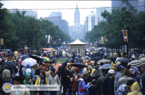 1983 restaurant festival umbrellas