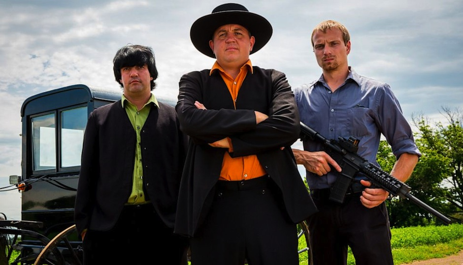 "Cast of Discovery Channel's ""Amish Mafia."""