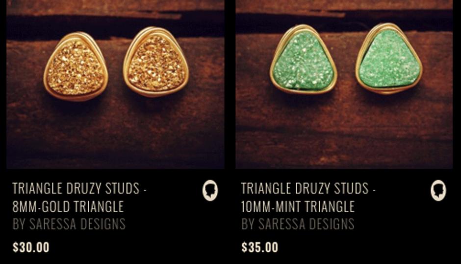Those earrings are  cute   Image via Preserve