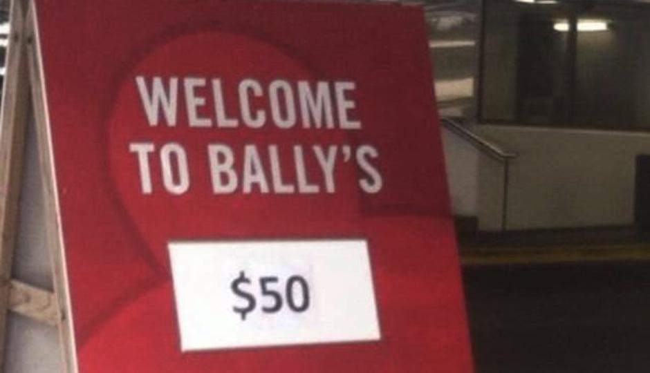 Ballys Parking Header