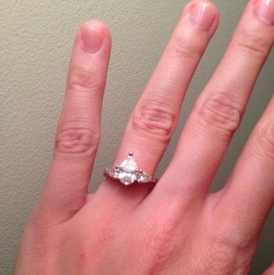 Gina's ring!