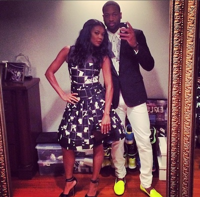 gabrielle union and dwyane wade's save-the-date wedding video, Wedding invitations
