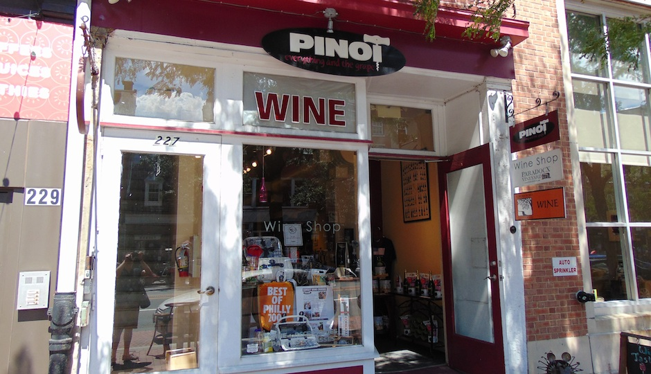 Pinot Boutique in Old City.
