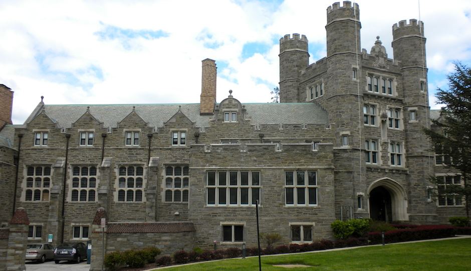 Rockefeller Hall at Bryn Mawr College