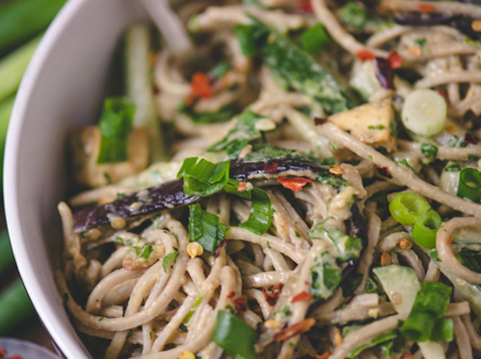 Grilled Tofu And Soba Noodles Recipes — Dishmaps
