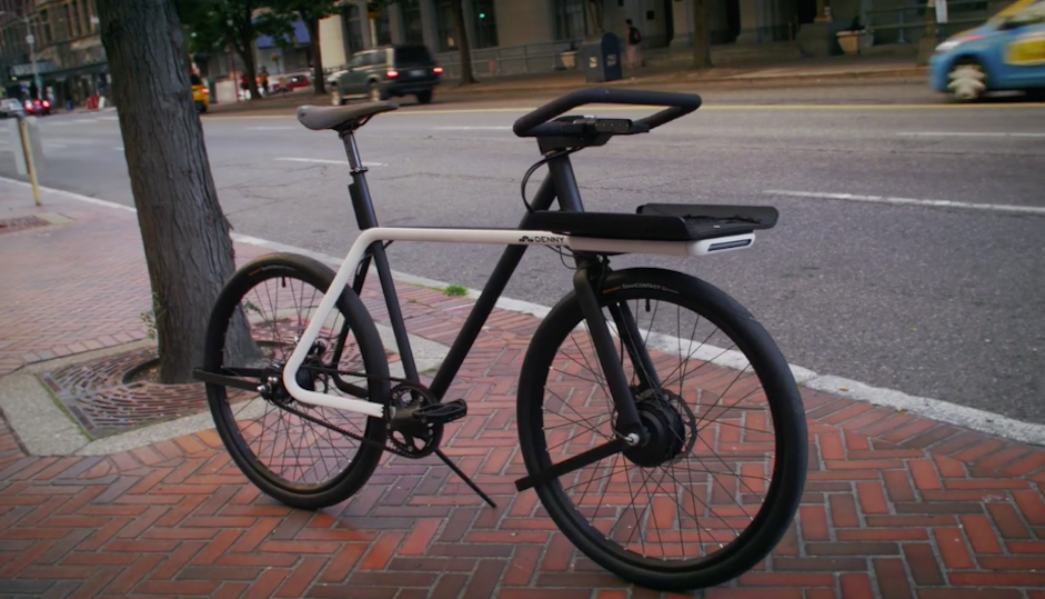 "Teague X Sizemore ""Denny"" e-bike"