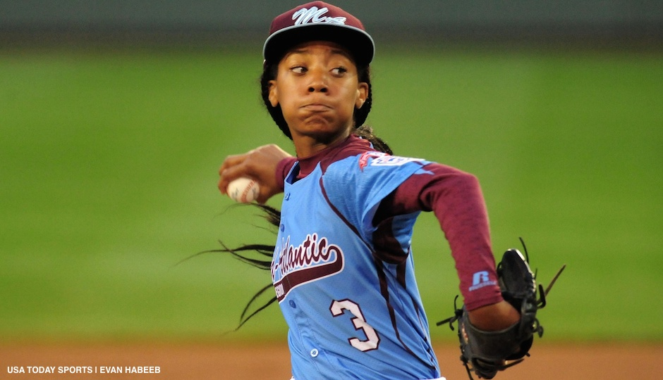 Mo'ne Davis will donate to the National Baseball Hall of Fame the jersey she wore in pitching a shutout at the Little League World Series.
