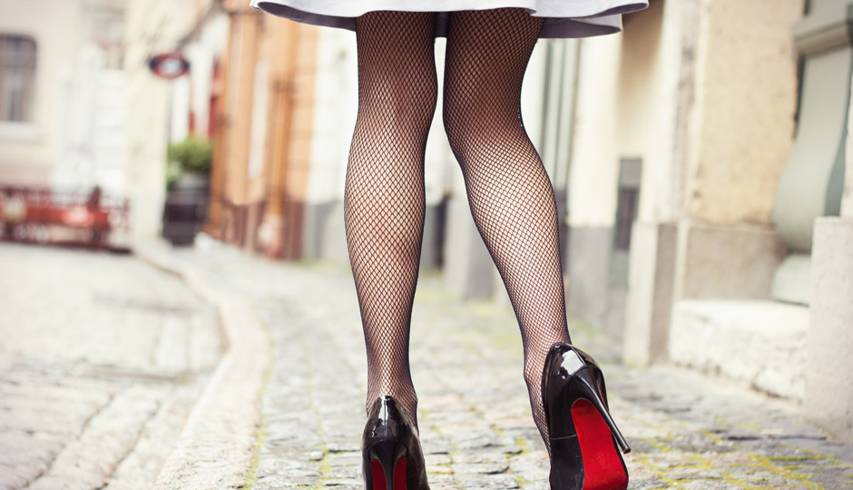 Woman-in-short-skirt