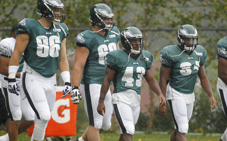 NFL: Philadelphia Eagles and New England Patriots Practice