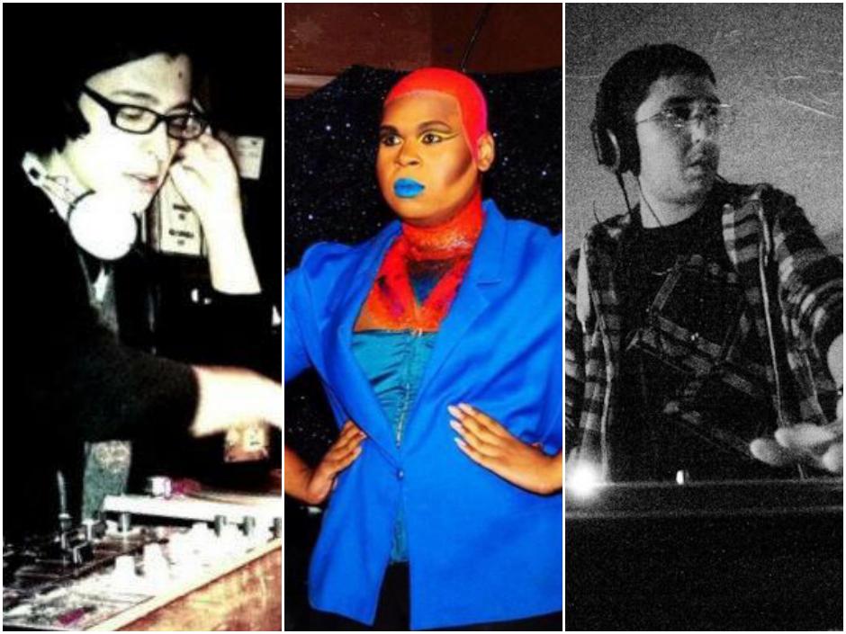 Freak Boutique masterminds DJ evil v, Icon Ebony Fierce, and DJ Tay Tay.