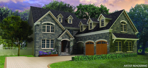 artist rendering of Design Home
