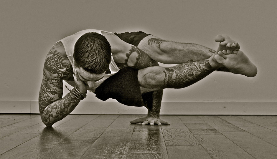 Justin Reilley—a.k.a. the Tattooed Yogi—will lead the class.