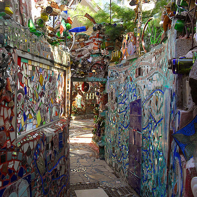 You're not a true Philadelphian until you've gotten lost in the Magic Gardens.