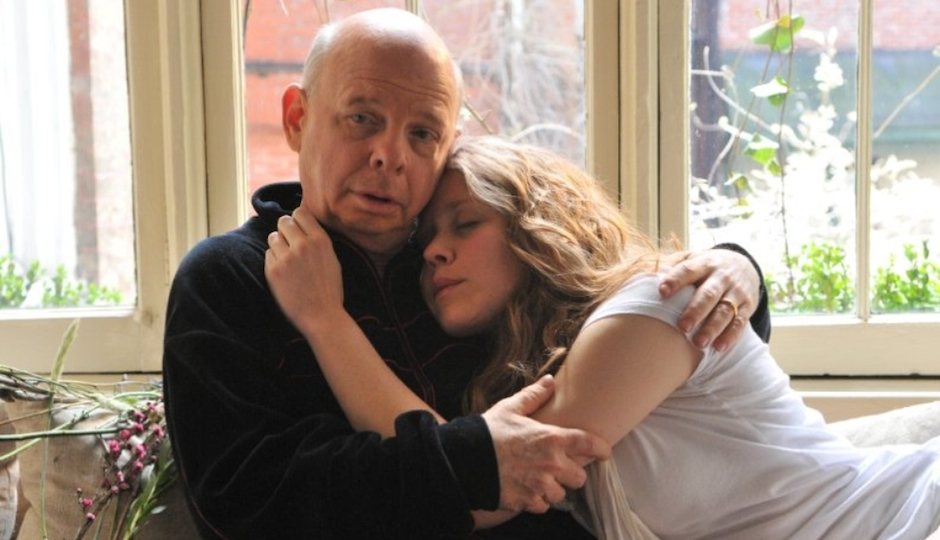 "Wallace Shawn and Lisa Joyce co-star in Jonathan Demme's ""A Master Builder."""