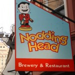 Nodding Head is pouring George's Fault | J. Fidance for Visit Philly