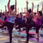Rooftop yoga at Whole Foods Market Plymouth Meeting