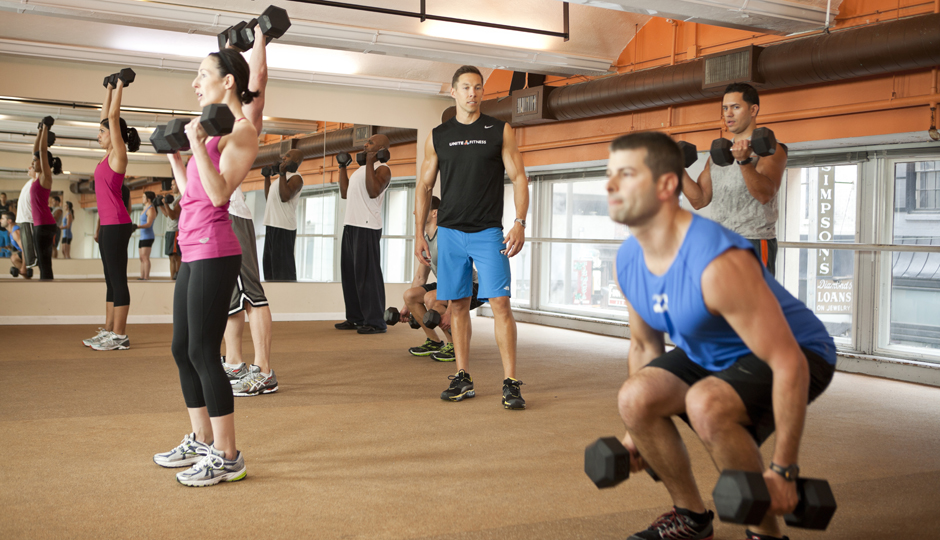Cross-training at Unite Fitness | Photograph by Christopher Gabello