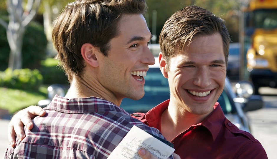 """Jack Turner and Michael Hamilton in """"10 Year Plan."""""""