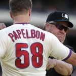 Jonathan Papelbon, Joe West