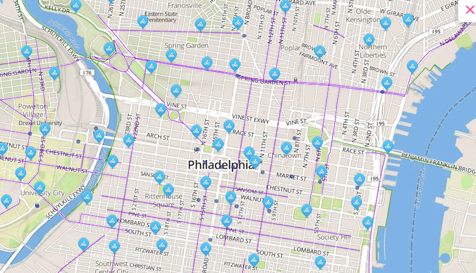 Dc Bike Share Map Tell Philly Where You Want Bike Share Stations